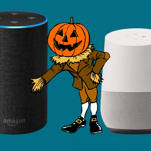 Festeggia il tuo Halloween con Google Home ed Alexa